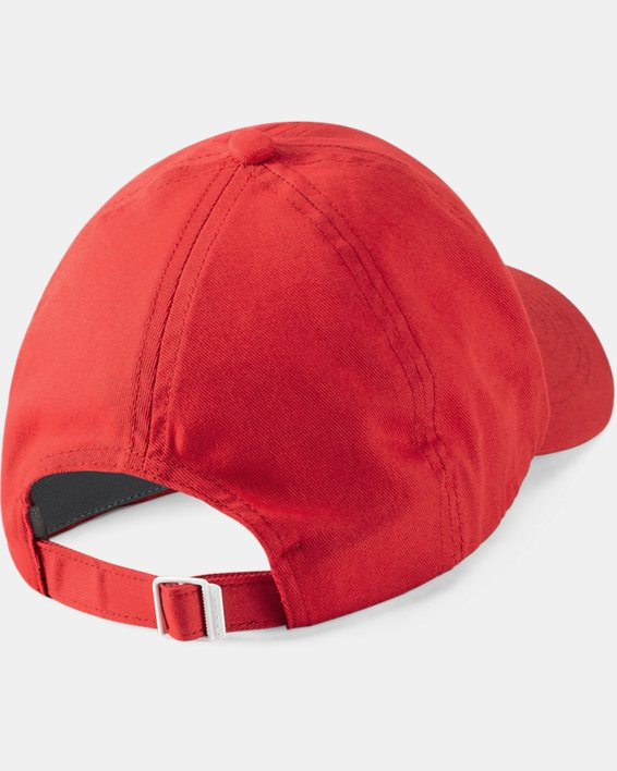 Women's UA Team Armour Cap, Red, pdpMainDesktop image number 1